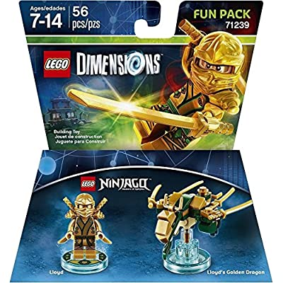 Ninjago Lloyd Fun Pack - LEGO Dimensions: Lego Dimensions Ninjago Lloyd Fun Pack: Video Games