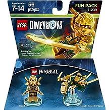 Warner Bros Lego Dimensions Lloyd Fun Pack - Ninjago Lloyd Fun Pack Edition