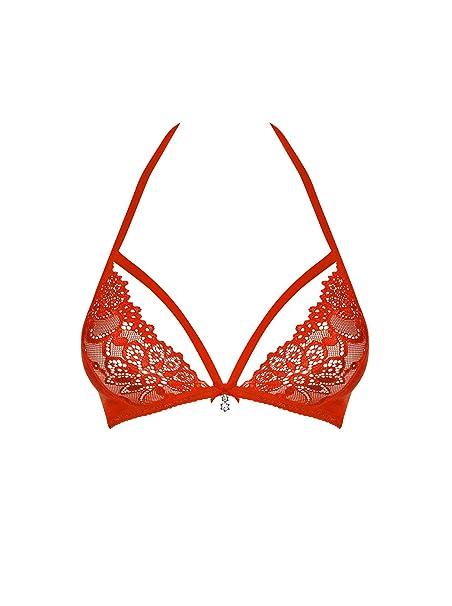 Suspender Belt and Matching Thong Set OBSESSIVE 818 Luxury Decorative Bra