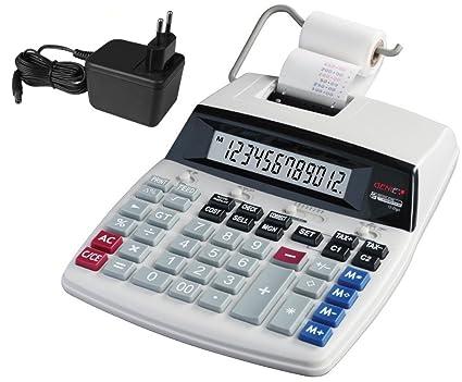 Genie D69 Plus - Calculadora impresora, blanco