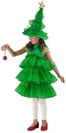 59755264 Princess Paradise Girl 4087_XS Glitter Christmas Tree Costume, X-Small,  Green