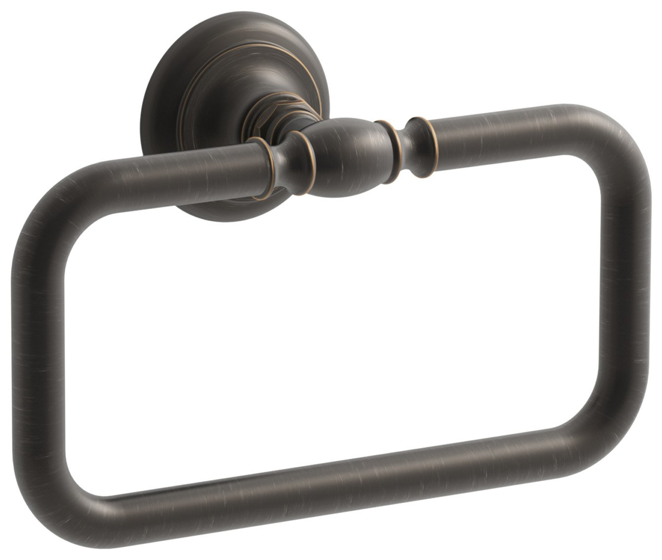 KOHLER K-72571-2BZ Artifacts Towel ring, Oil-Rubbed Bronze by Kohler