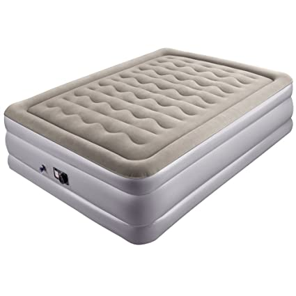 inflatable air mattress queen Amazon.com: Sable Air Mattress, Raised Inflatable Airbed with  inflatable air mattress queen