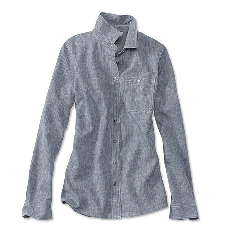 Orvis Womens Tech Chambray Work Shirt