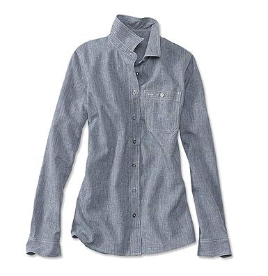 d1c11a81 Orvis Women's Tech Chambray Work Shirt, Blue Chambray, Small