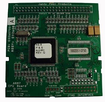 Amazon.com: Zodiac R0466801 Printed Circuit Board CPU Software ...