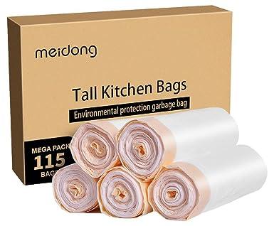 Meidong Strong Sacchi Spazzatura Borse Trash bags Garbage Bags 13 ...
