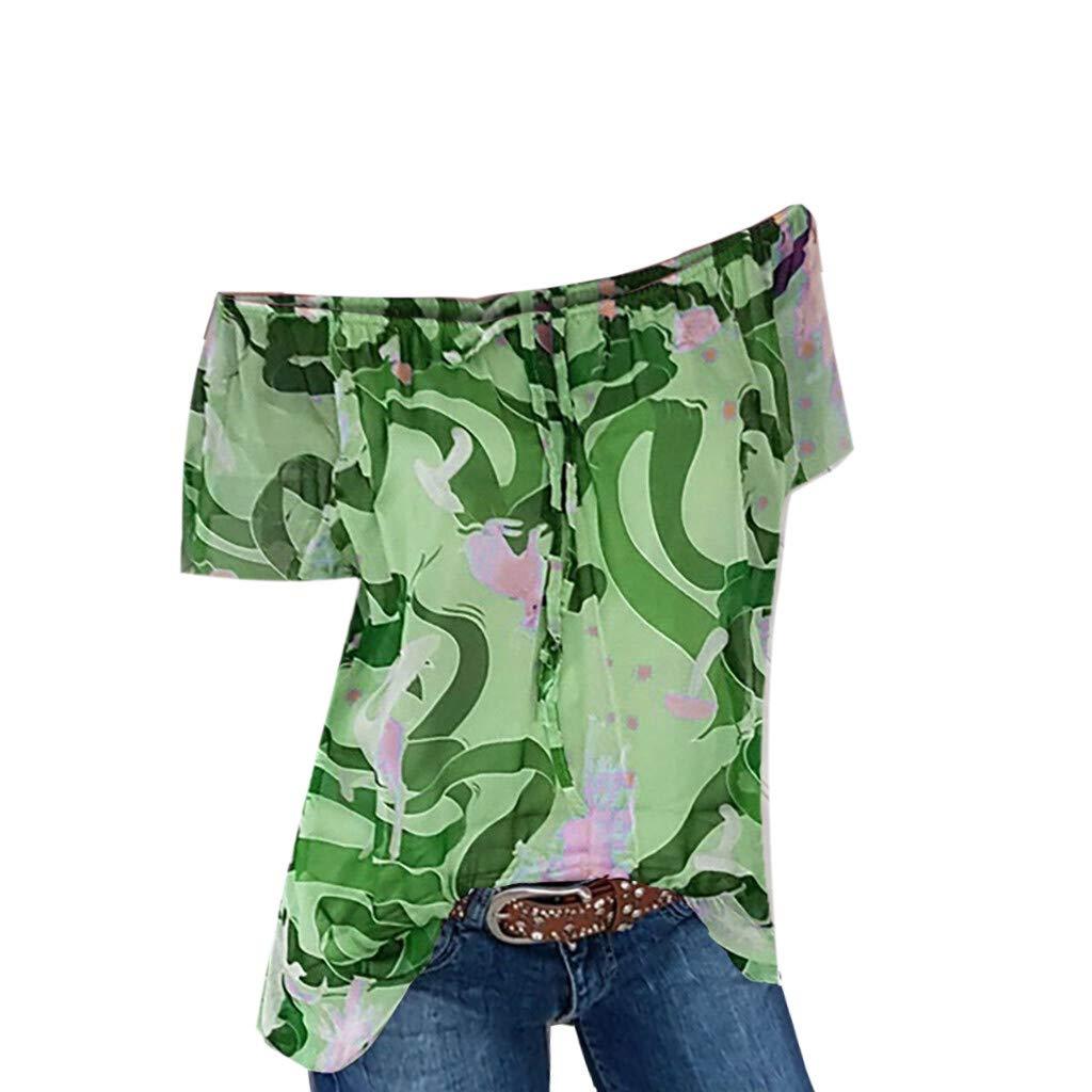 Colmkley Summer Casual Mens Creative Short Sleeve 3D Digital Print T-Shirt Tops