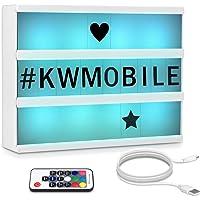 kwmobile Caja de luz cinematográfica LED A4