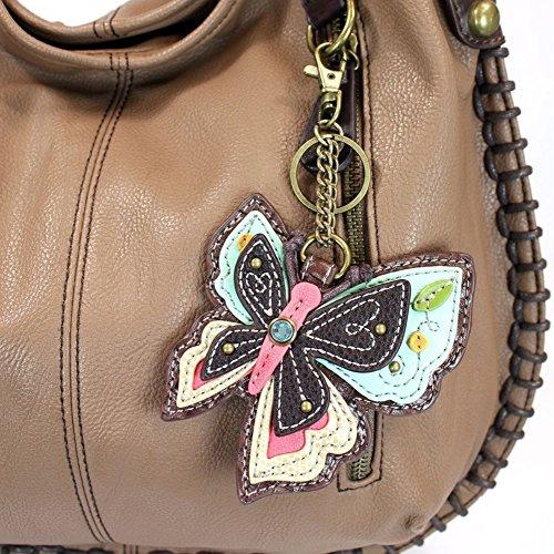 Bag Crossbody Charming Butterfly Brown Hobo Chala wxBIq8WF