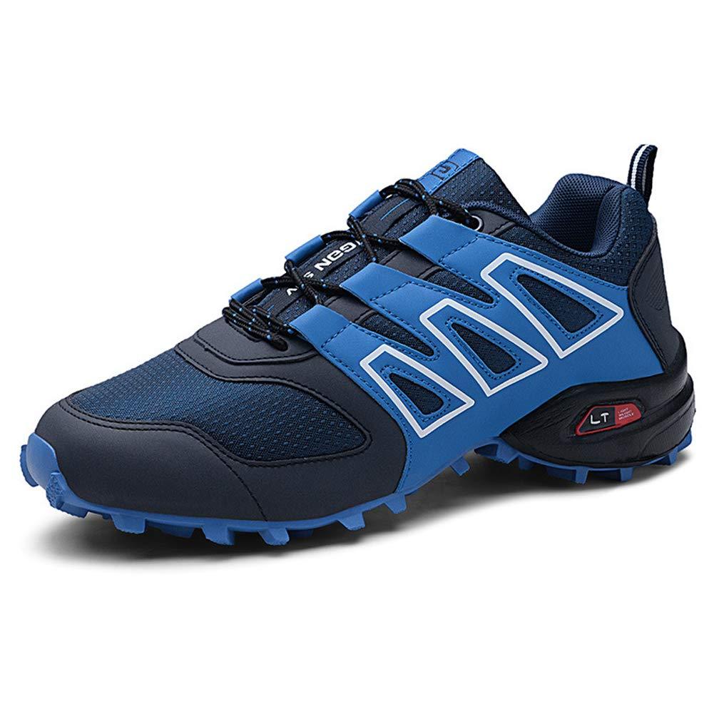 Chaussures de randonnée en Plein air antidérapantes Portent des Chaussures de Marche de Grande taille-bleu-42