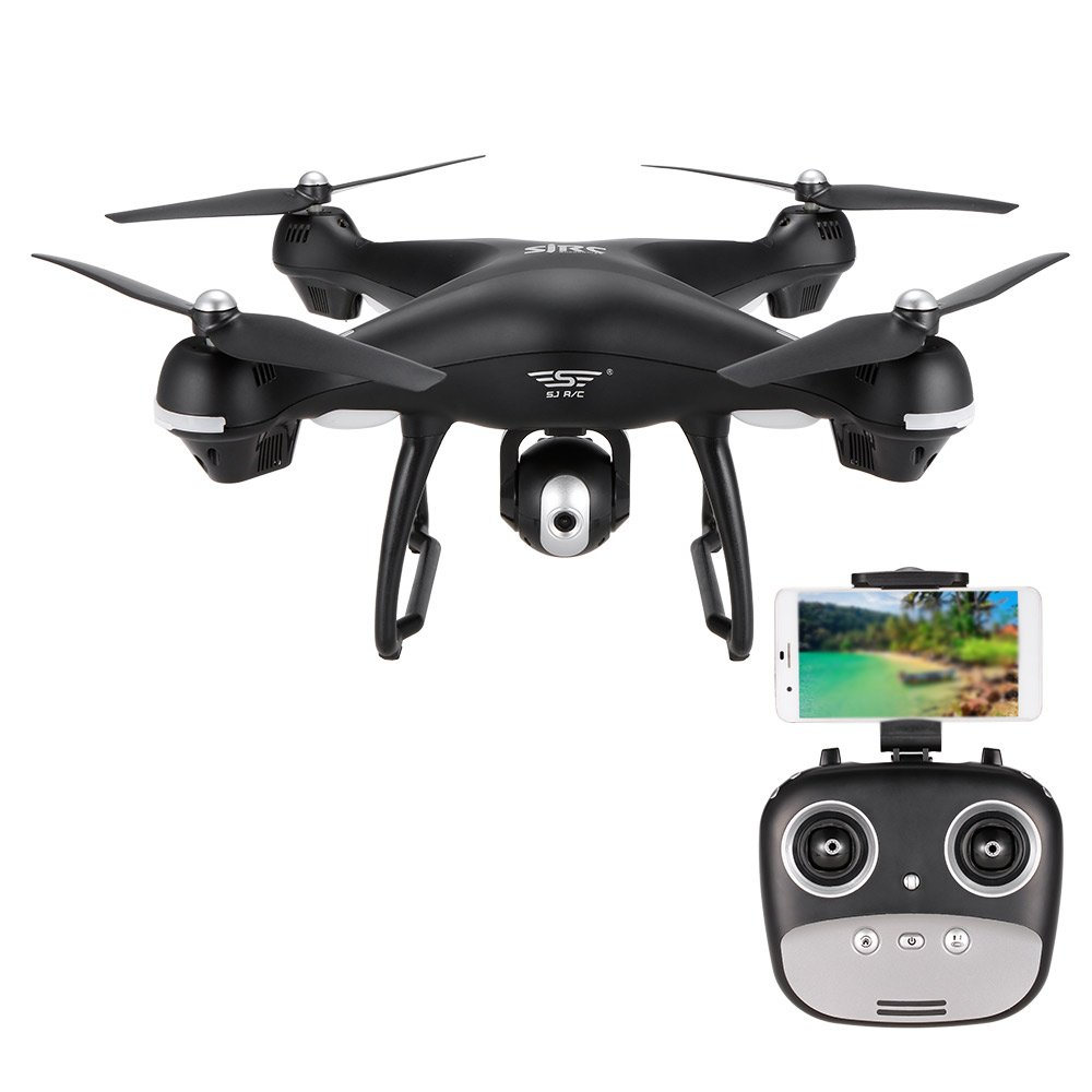 Goolsky SJ R / C S70W 720 P Kamera Wifi FPV Drohne Höhe Halten G-sensor Follow Me Modus GPS RC Quadrocopter