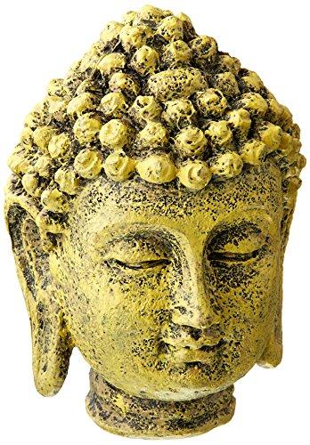 Penn-Plax Mini Buddha Head Aquarium Decor - Flats Buddha Big