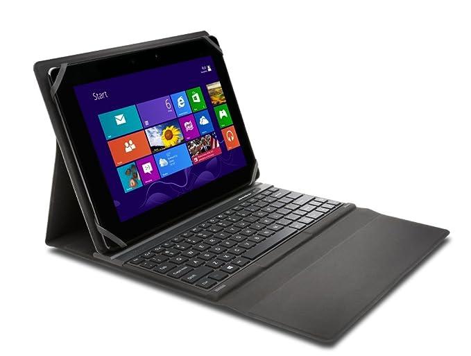"""Kensington KeyFolio Fit - Funda para tablet de 10"""" (incluye teclado, Bluetooth)"""