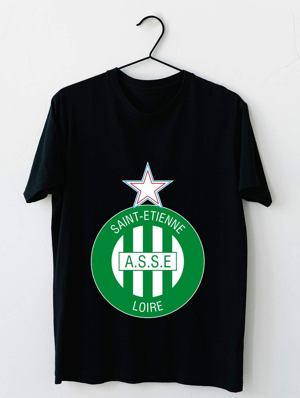 As St Etienne Logo 14 T Shirt For Unisex