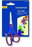 Staedtler Noris Club 96514NBK - Tijeras para niños (14 cm, punta redondeada, mango ergonómico, acero inoxidable), 1 unidad