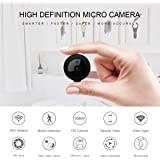 Hidden Spy Mini Camera, Home Wireless Security WiFi Camera Camera with Super Night Vision Motion Detection 1080P HD Surveillance Camera Small Nanny Pet Baby Monitor
