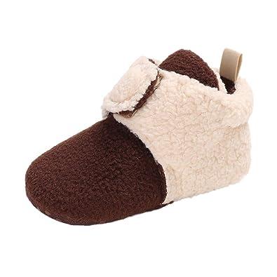 94d67bfcb9dd6 Amazon.com: Gooldu Baby Shoes, Baby Girl Boy Soft Booties Little ...