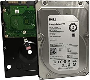 "DELL/Seagate Constellation ES ST2000NM0011 2TB 7200RPM 64MB Cache SATA 6.0Gb/s 3.5"" Internal Enterprise Hard Drive - 3 Year Warranty (Renewed)"