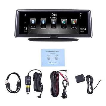7.84inch núcleo cuádruple Bluetooth Radio de Coche GPS estéreo Pantalla capacitiva: Amazon.es: Electrónica