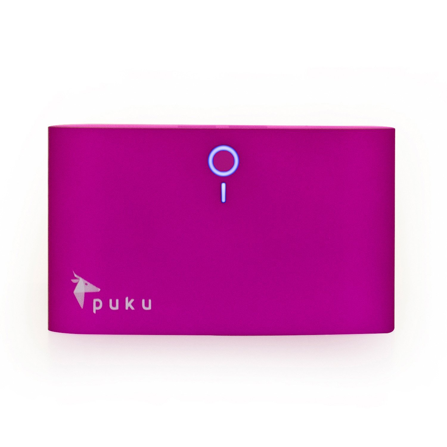 Puku S8 8000mAh Smartphone and Tablet Portable Charger - Retail Packaging - Purple
