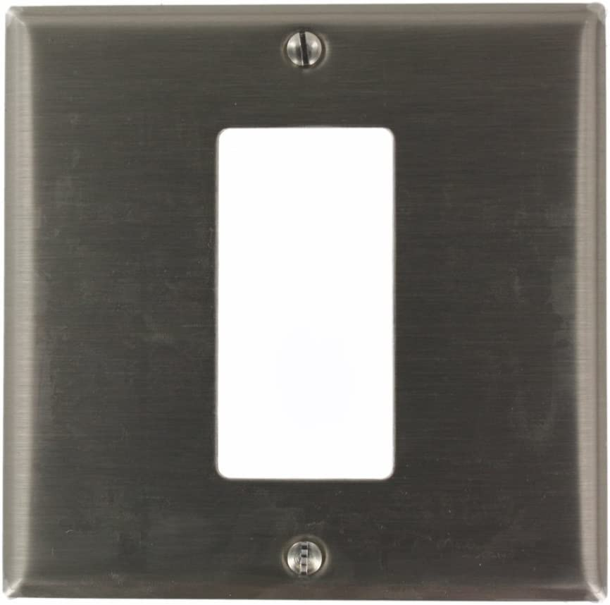 Leviton S746-N, Stainless Steel