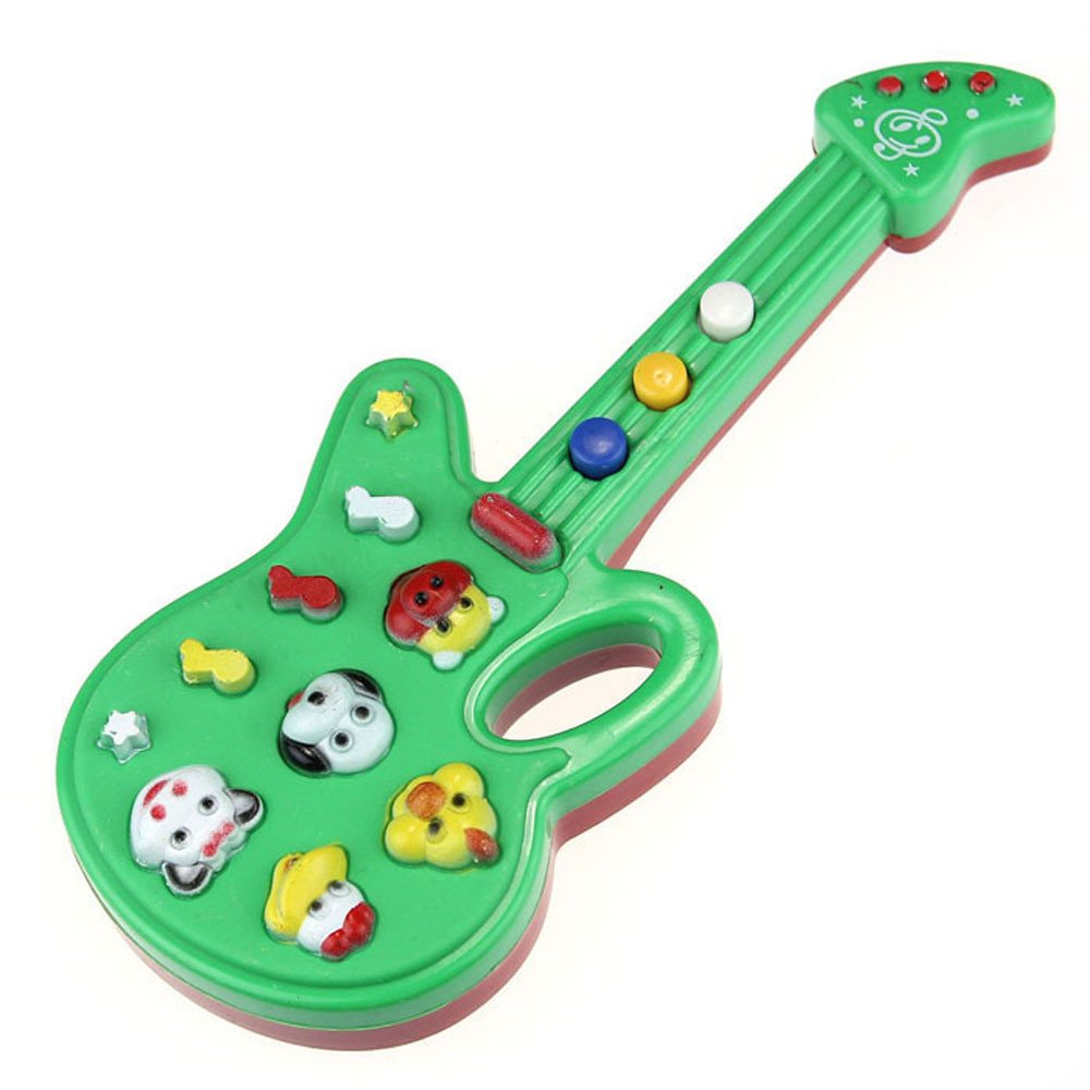 Wenini Electronic Guitar Toy - Music and Sound Guitar Toy Nursery Rhyme Music Children Baby Kids Gift (Multicolor) by Wenini (Image #4)