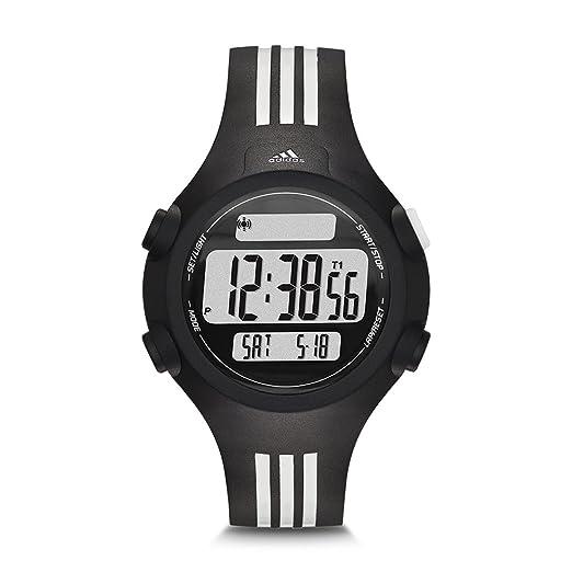 adidas 0 - Reloj de 0 para 0, con correa de plástico, color negro: Adidas: Amazon.es: Relojes