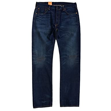 dd1421f61b3 Image Unavailable. Image not available for. Colour  Levi s Made in USA 501  Vintage Wash Selvedge Jeans ...