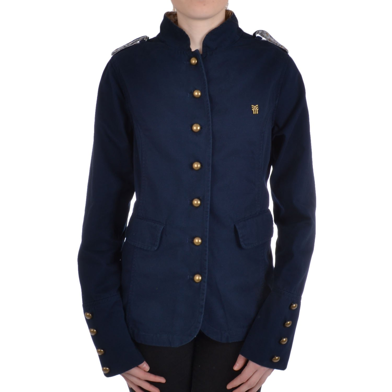 Fenchurch - verónica mujeres militares chaqueta de abrigo,  abotonada, militar, de mujero