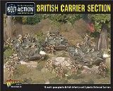 Bolt Action British Carrier Section Box - Plastic