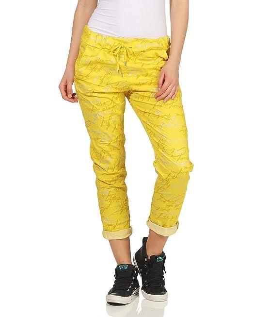 ZARMEXX Pantalones de chándal para Mujer Pantalón de Verano Estilo ...