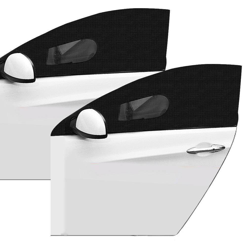 Allnice Auto Fenster Schattierung 2 Stück Uv Strahlen Auto Moskitonetz Schützt Baby Kinder Und Haustiere Passend Für Die Meisten Autos Lkws Und Suvs Baby