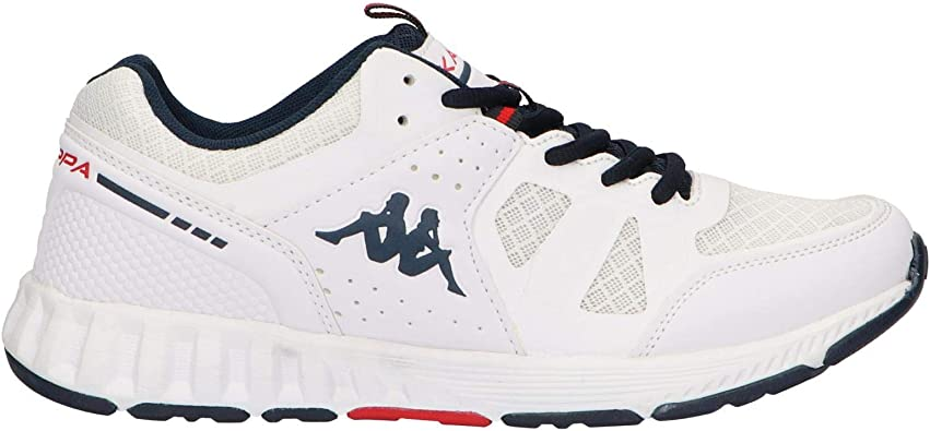 Zapatillas Deporte de Hombre KAPPA 304NYF0 Birdy 905 White Blue: Amazon.es: Zapatos y complementos