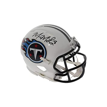Amazon.com  Marcus Mariota Autographed Signed Tennessee Titans Speed Mini  Helmet - PSA DNA Authentic  Sports Collectibles 0aedd8f57