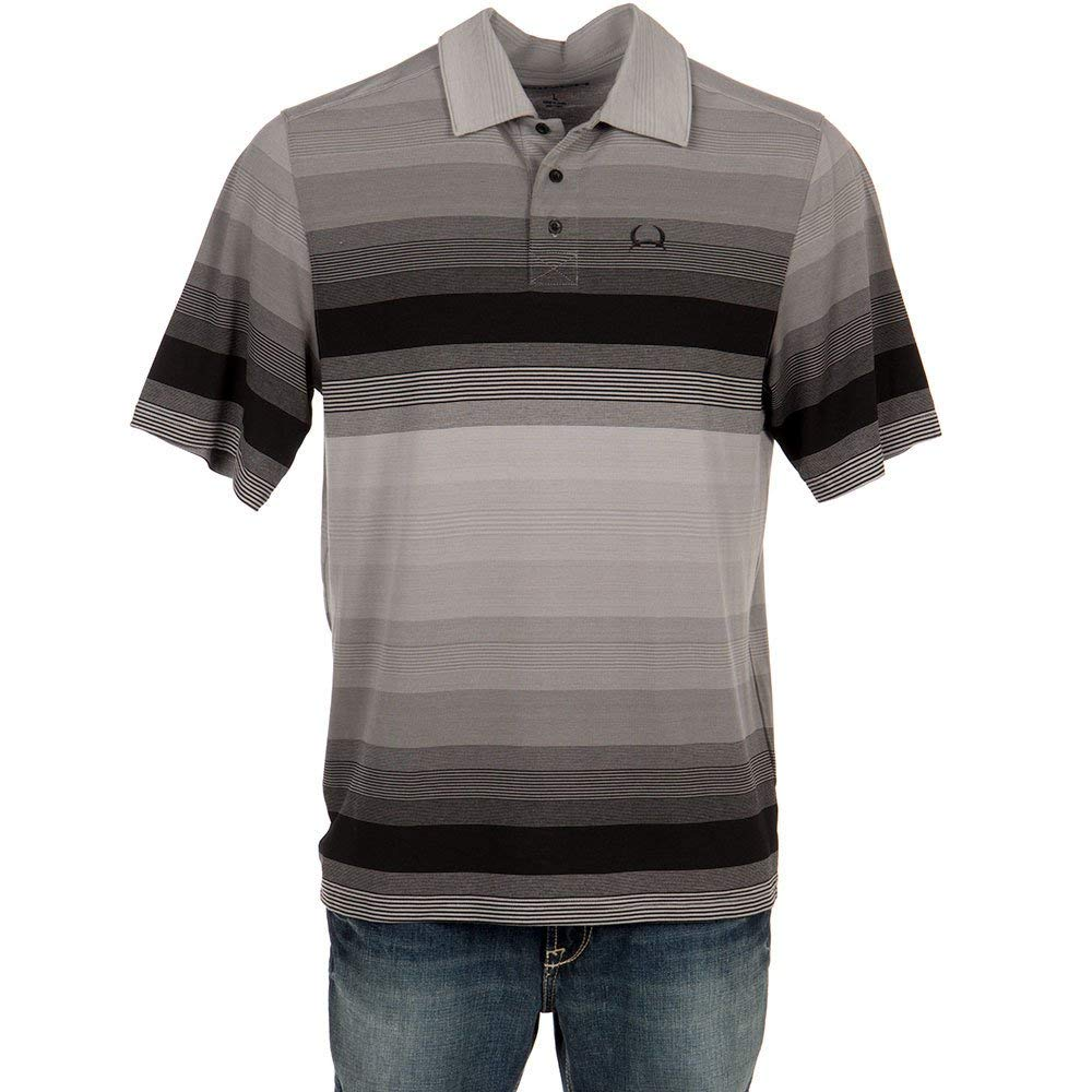 752fabae Cinch Men's Arenaflex Polo Shirt at Amazon Men's Clothing store: