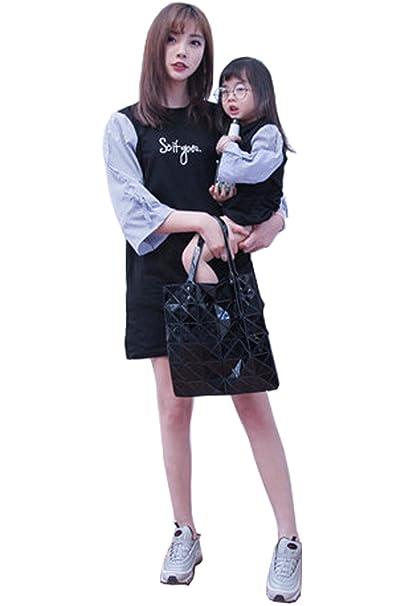 Lisa Pulster 親子 お揃い服 レディース ワンピース 親子ワンピース 母と娘 女の子 姉妹 切り替え