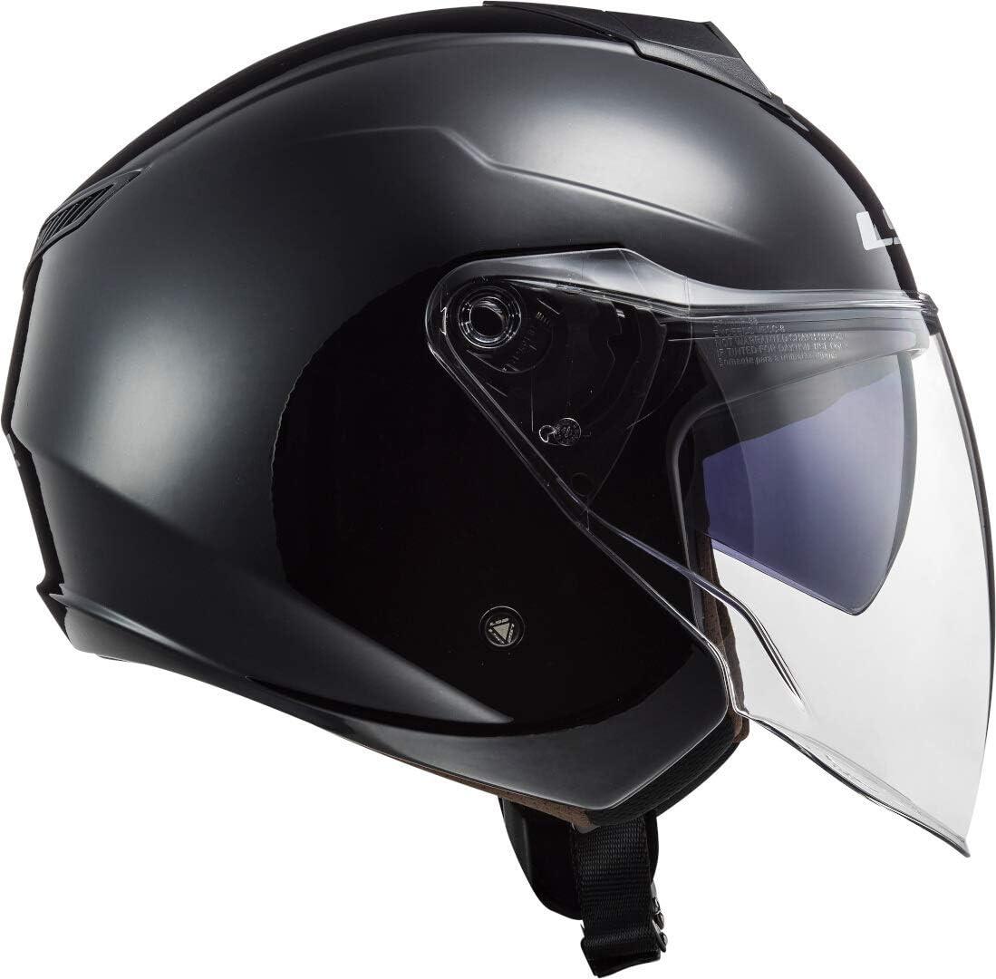 Noir LS2 Casque moto OF573 TWISTER II SINGLE MONO NOIR XS