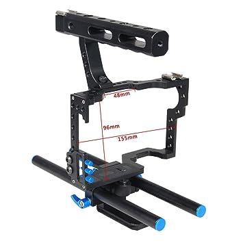 Studyset - Juego de Jaula estabilizadora de vídeo para cámara de ...