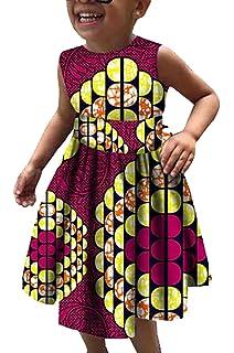2b376e16099 Highisa Girls Fashion African Print Dashiki Long Loose Plus Size ...