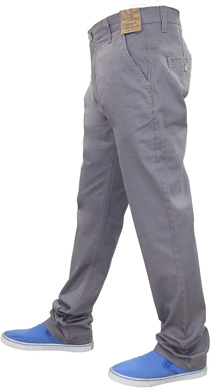 New Mens Designer Jacksouth Regular fit Pantalon Stretch Coton Riche Twill Chino