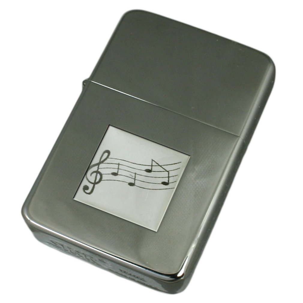 Engraved Lighter Music Sheet