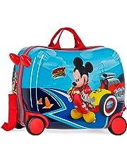 Disney Lets Roll Mickey Valigia per bambini 50 centimeters 39 Multicolore (Multicolor)