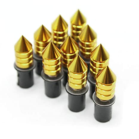 5mm Motorcycle Spikes Bolts for Windscreen//Windsheild Fairings License Plate