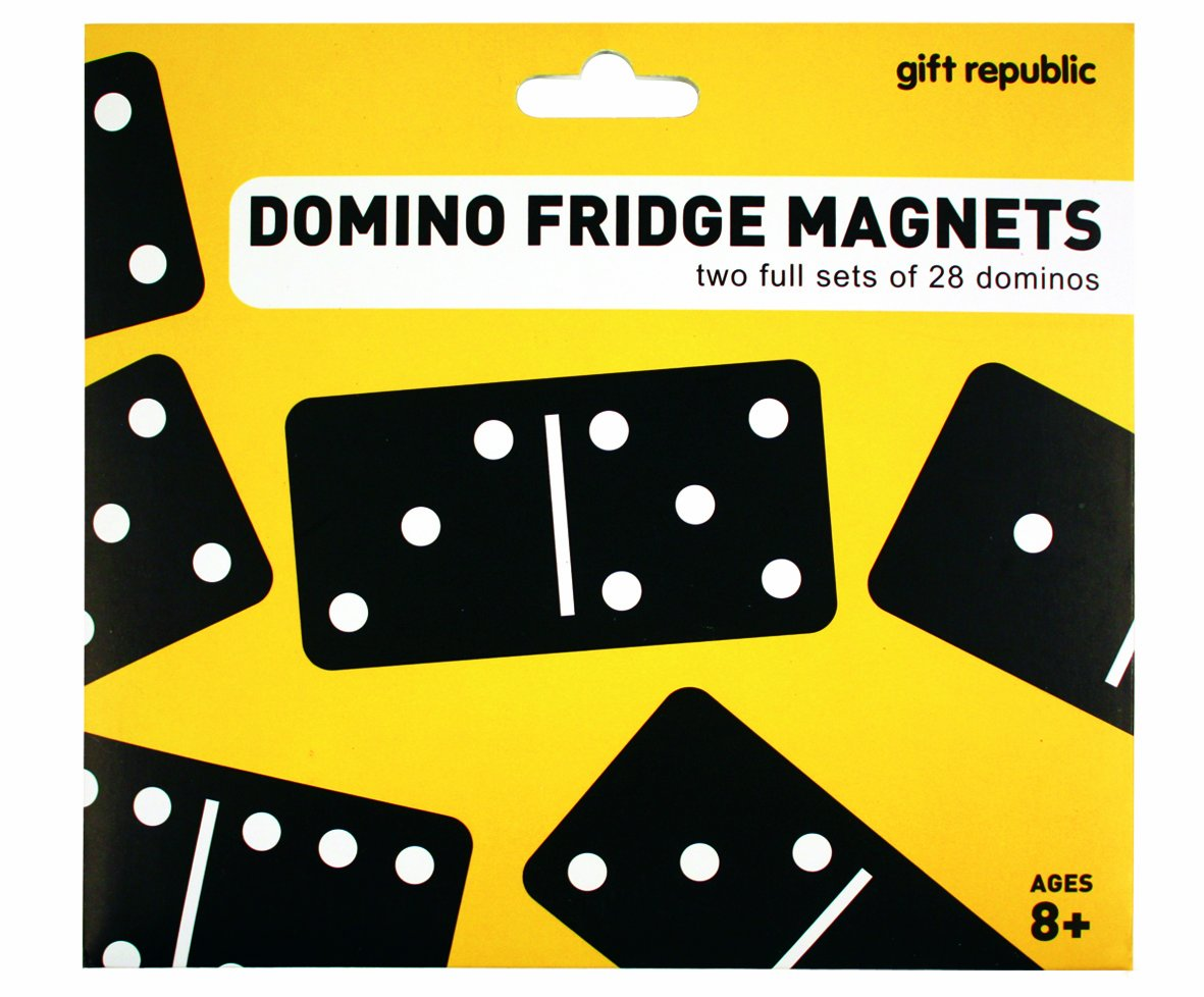 Gift Republic Novelty Domino Fridge Magnets GR330027