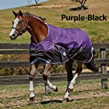 Weatherbeeta Comfitec Plus Dynamic Standard Neck Lite Purple/Black 75''