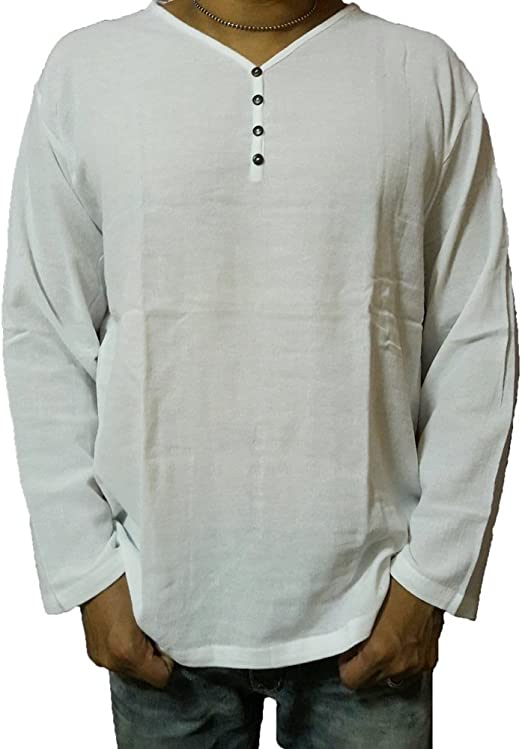 deedeeshop Blanco de Verano Camiseta Cuello de Pico algodón ...