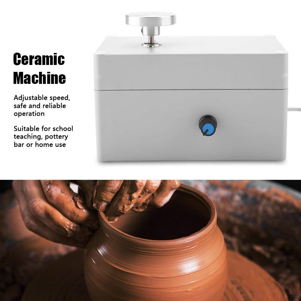 USB Mini Clay Making Pottery Machine DIY Ceramic Throwing Machine Clay Making Pottery Machine 2000RPM by Walfront (Image #2)