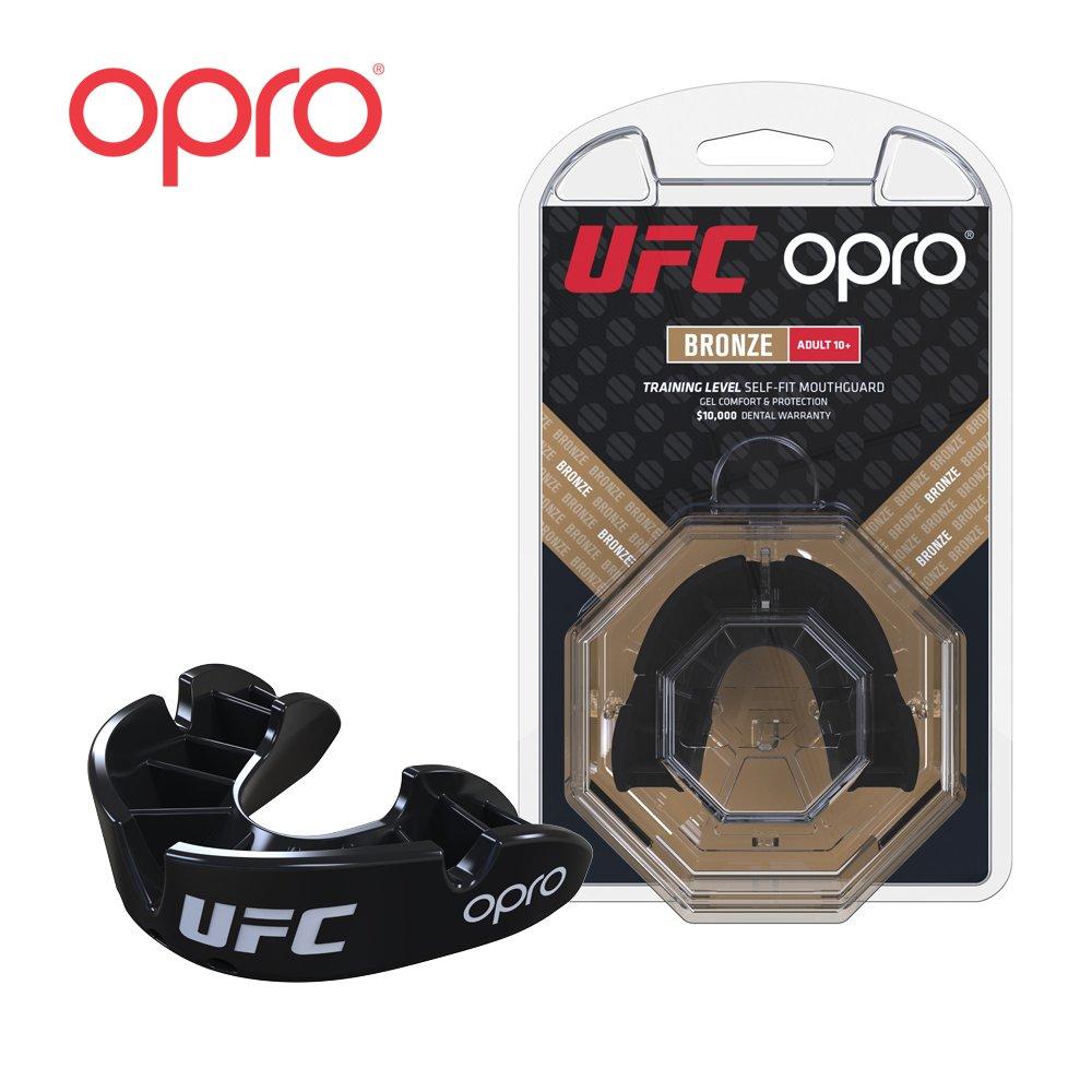 Opro Junior UFC Mouthguards (Bambino) per MMA, Boxe, Karate, BJJ e Altri Sport di Combattimento - Garanzia Dentale estesa di 18 Mesi