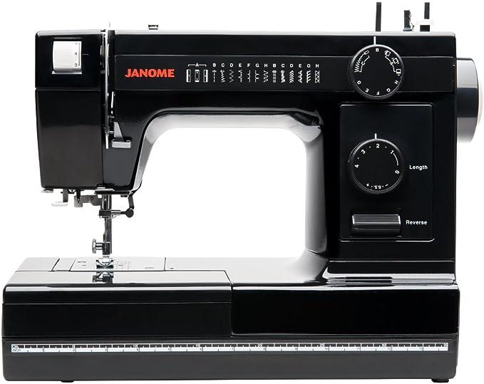 Janome HD1000 máquina de coser de cuerpo de aluminio de grado ...